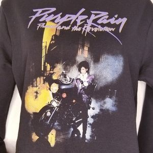 Prince Tops - Prince & the revolution Purple Rain t-shirt